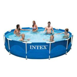 Бассейн каркасный 366х76 см, Intex 28210/56994 без фильтр-насоса