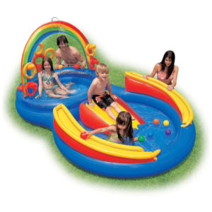 Intex 57453 бассейн Радуга игровой центр