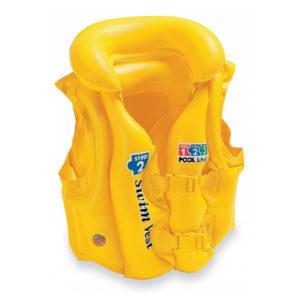 Жилет спасательный INTEX разноцветный 50*47см 3-6лет 58660