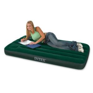 Односпальный надувной матрас Intex 66950 Downy Bed