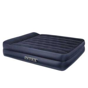 Двуспальная надувная матрас-кровать intex 66702