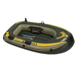 Надувная лодка ПВХ Intex 68345 Seahawk 100 Set