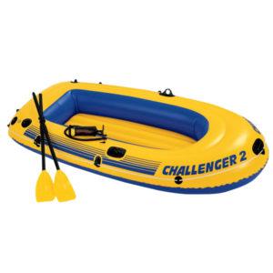 Лодка надувная двухместная 236x114 см, Intex 68367