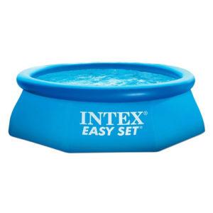 ВОСЬМИГРАННЫЙ НАДУВНОЙ БАССЕЙН INTEX 28120 NP Easy Set 305х76см, модель 2016г.