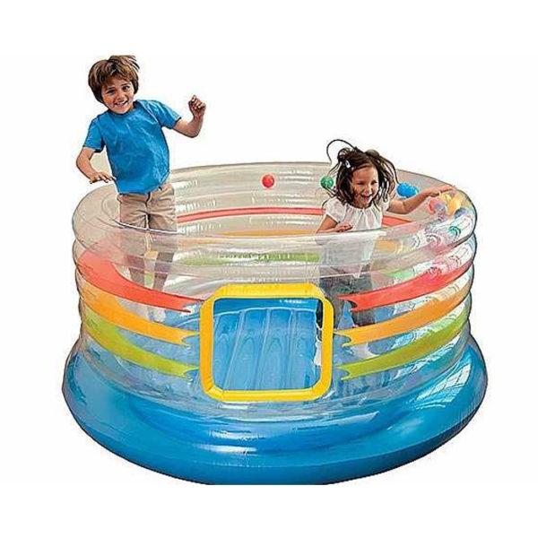 Детский игровой центр батут надувной с мячами INTEX 48264