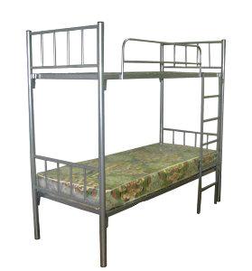 Кровать металлическая двухъярусная 2-Б