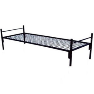 Кровать металлическая одноярусная C-10