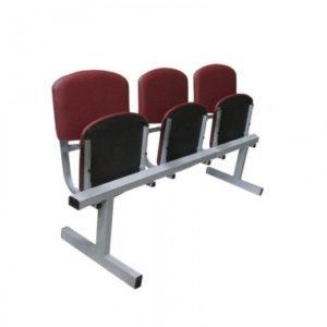 Кресло 3-х секционное откидное 3М