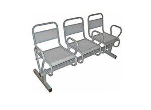 Секция стульев Вояж с подлокотниками